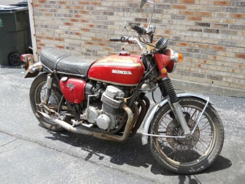 1970 Honda CB Red for sale craigslist
