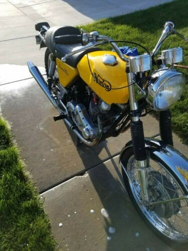 1970 Norton COMMANDO 750 Yellow for sale