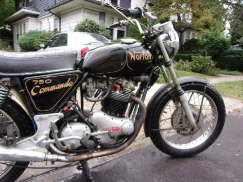 1970 Norton Commando Black for sale craigslist