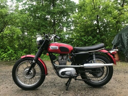 1970 Triumph Trophy Red craigslist