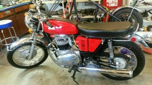 1971 BSA Lightning 650 A65 for sale