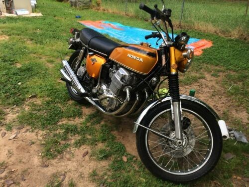 1971 Honda CB candy gold for sale craigslist