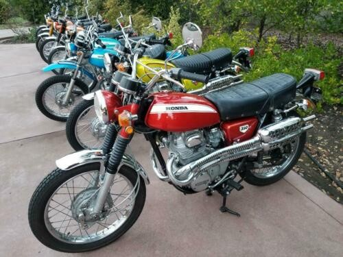 1971 Honda CL Ruby Red for sale craigslist