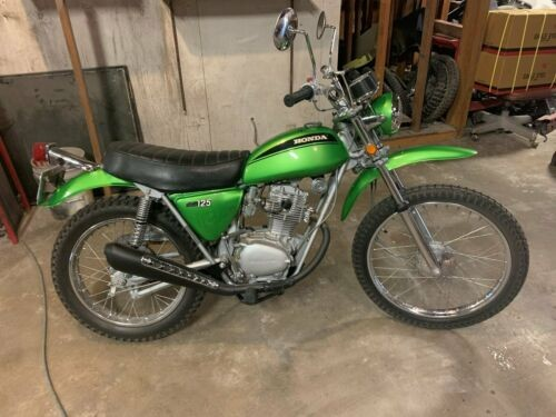1971 Honda SL125 Green for sale craigslist
