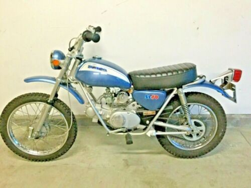 1971 Honda SL70 Blue for sale