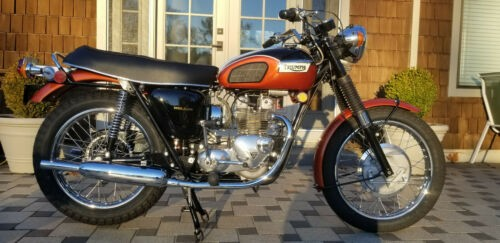 1971 Triumph Daytona Olympic Flame for sale craigslist