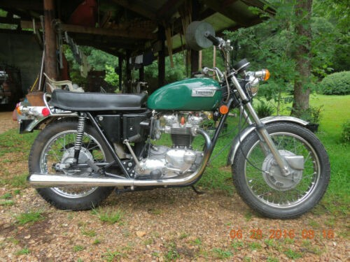 1971 Triumph Tiger Green for sale craigslist