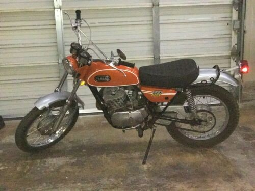 1971 Yamaha Enduro Orange craigslist