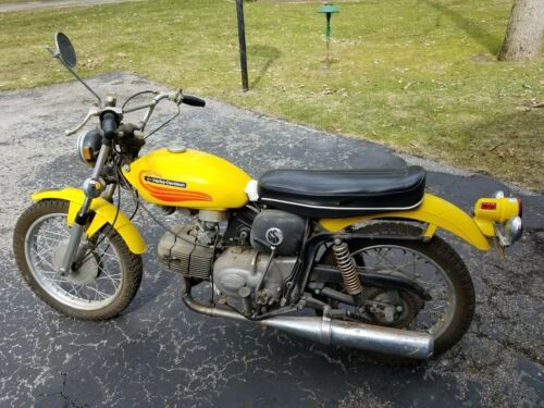 1972 Harley-Davidson Other Yellow for sale craigslist