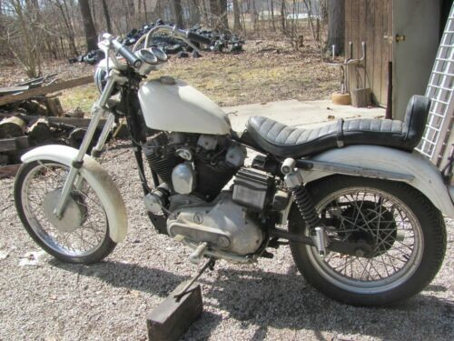 1972 Harley-Davidson Sportster White for sale craigslist