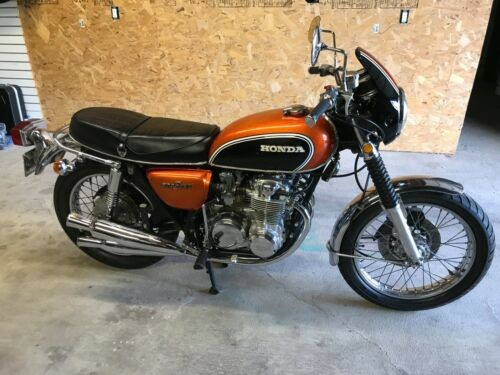 1972 Honda CB Orange for sale