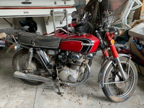 1972 Honda CB Red for sale craigslist