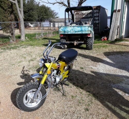 1972 Honda CT Yellow for sale