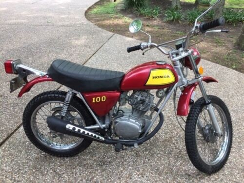 1972 Honda SL100 K2 Red or Turquise for sale craigslist