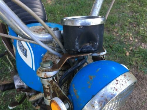 1972 Honda SL70 Blue for sale