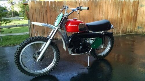 1972 Husqvarna 250 WR Red for sale