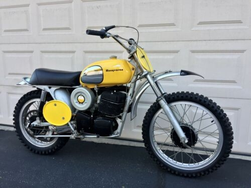 1972 Husqvarna 450 WR Yellow for sale craigslist