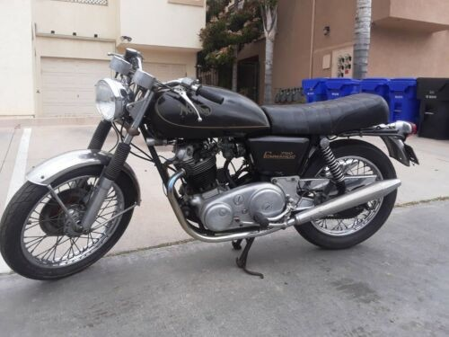 1972 Norton Commando 750 Interstate Black for sale craigslist