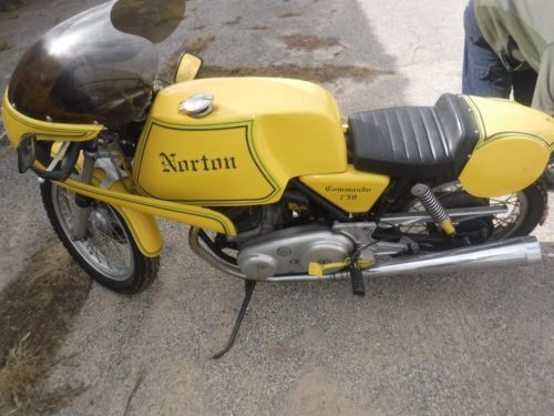 1972 Norton Commando 750 Yellow craigslist