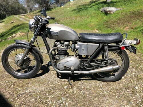 1972 Triumph Tiger Gray for sale