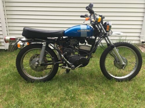 1973 Harley-Davidson Other Blue for sale craigslist