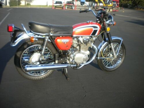 1973 Honda CB 350 K Orange craigslist