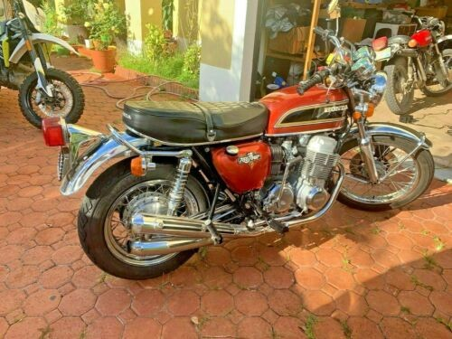 1973 Honda CB Orange for sale