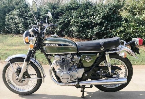 1973 Honda CB Tyrolean Green for sale craigslist