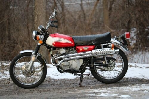 1973 Honda CL Red for sale craigslist