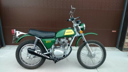 1973 Honda SL100 K2 Green for sale