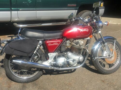 1973 Norton 850 Commando Red for sale craigslist