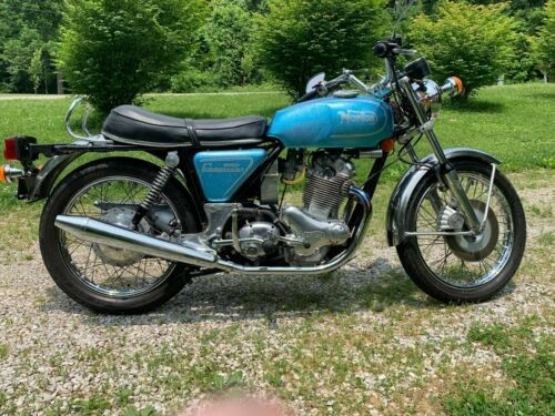 1973 Norton Commando Fireflake Royal Blue for sale craigslist