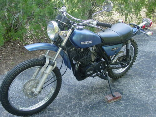 1973 Suzuki TS400 Blue for sale