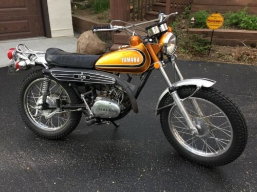 1973 Yamaha CT-3 Orange craigslist