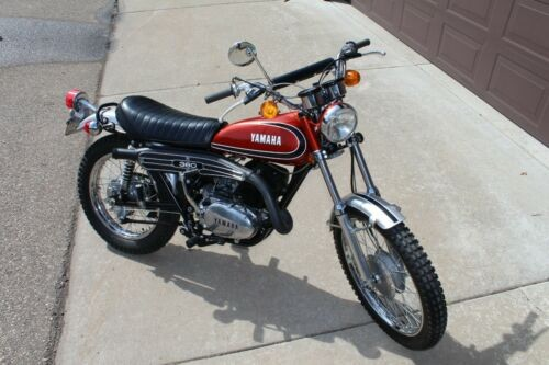 1973 Yamaha RT3 360 Red craigslist