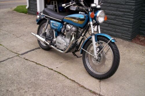 1973 Yamaha TX650 Blue/Gold for sale craigslist