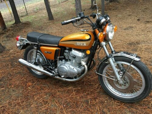 1973 Yamaha TX750 Orange for sale
