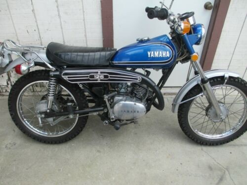 1973 Yamaha Yamaha Blue for sale craigslist