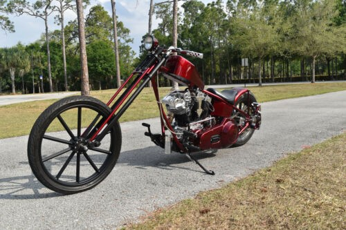 1974 Custom Built Motorcycles Chopper Burgundy for sale craigslist