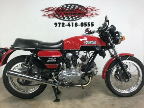 1974 Ducati 750GT Red for sale
