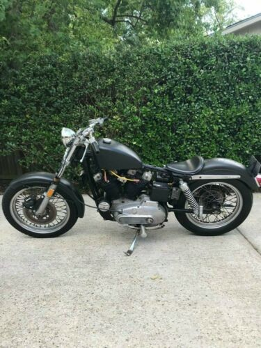 1974 Harley-Davidson Sportster Black for sale craigslist