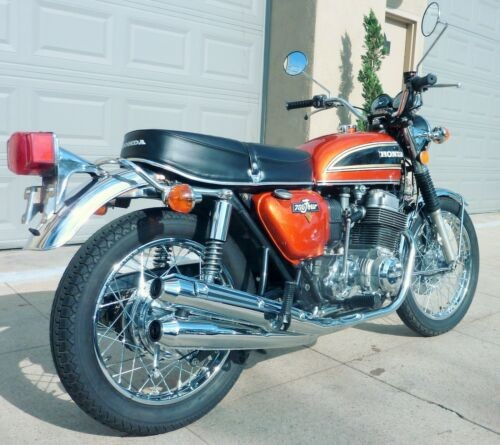 1974 Honda CB FLAKE SUNRISE ORANGE for sale craigslist