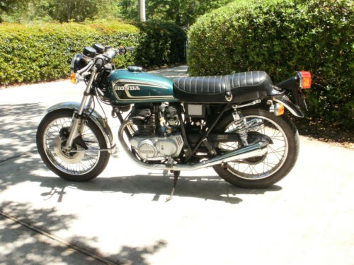 1974 Honda CB Green for sale