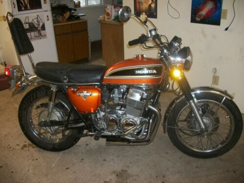 1974 Honda CB orange craigslist