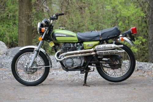 1974 Honda CL Green for sale craigslist