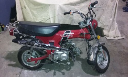1974 Honda CT Red for sale craigslist