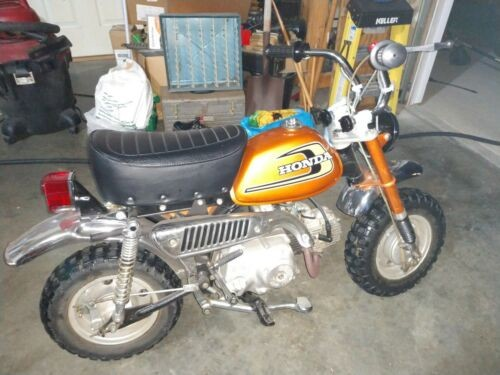 1974 Honda Z50 MINI TRAIL Orange for sale craigslist