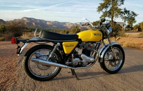 1974 Norton 850 Commando Yellow craigslist