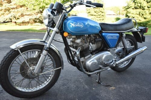1974 Norton Commando Blue for sale craigslist