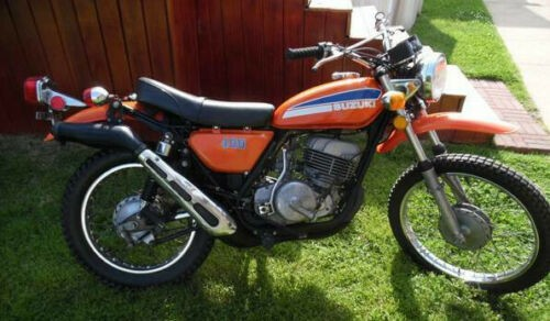 1974 Suzuki apache ts-400 Orange for sale craigslist